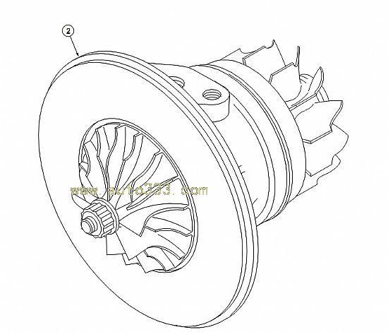 Cummins Engine Turbo