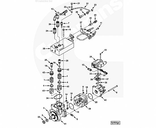 Cummins Qsc8 3 Valve Fuel Control 4009865 Buy Cummins