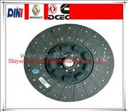 Dongfeng truck parts Φ430mm clutch plate 1601130-T0500