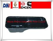 Diesel engine parts oil pan