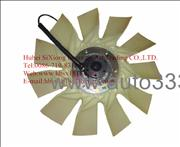 1308060-T0500,1308ZD2A-001 Dongfeng Kinland silicon oil clutch fan assembly, factory sells engine part