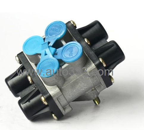 Dongfeng genuine parts Dongfeng kinland Dryer Accessories Multifunctional four circuit security valve assembly 3515W-010
