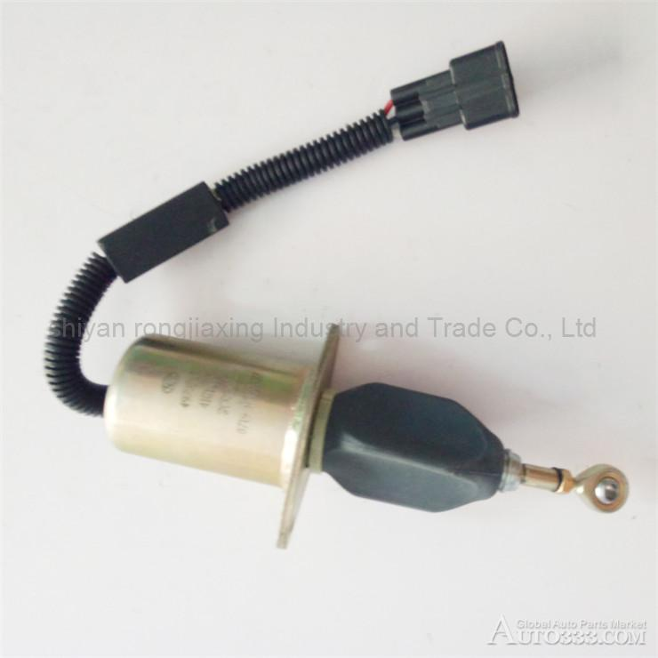 Dongfeng 6BT stop oil solenoid valve C4939643